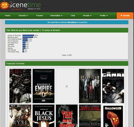SceneTime - scenetime.comlogin.php