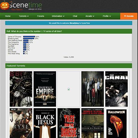 SceneTime - https://www.scenetime.com