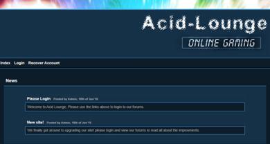 Acid Lounge - acid-lounge.org.ukMainindex.php