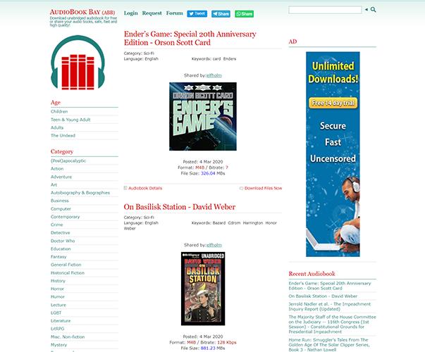 AudioBookBay - http://audiobookbay.nl