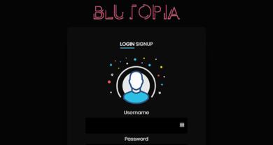 Blutopia - blutopia.xyzlogin