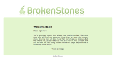 Brokenstones - brokenstones.club