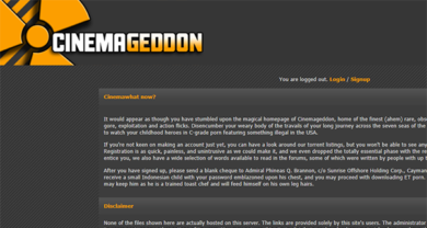 Cinemagedon - cinemageddon.net