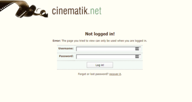 Cinematik - cinematik.netlogin.php?returnto=