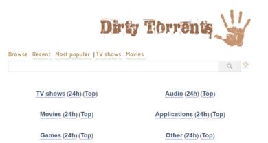 Dirty Torrents - dirtytorrents.com