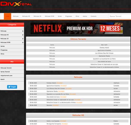 DivxTotaL - divxtotal3.net