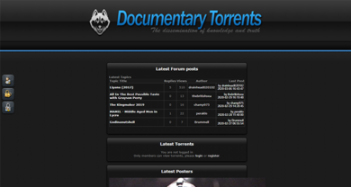 Documentary Torrents - documentarytorrents.com