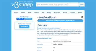 Emp3World - emp3world.com.w3snoop.com