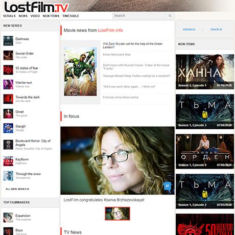 LostFilm - http://www.lostfilm.tv