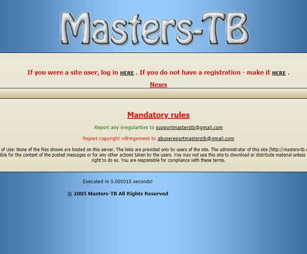 MastersTB - http://masters-tb.com