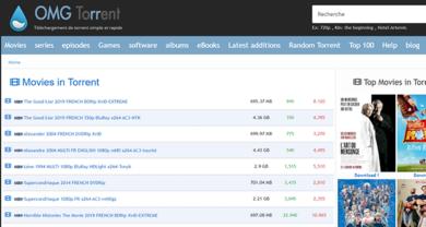 OMG Torrents - omgtorrent.cz