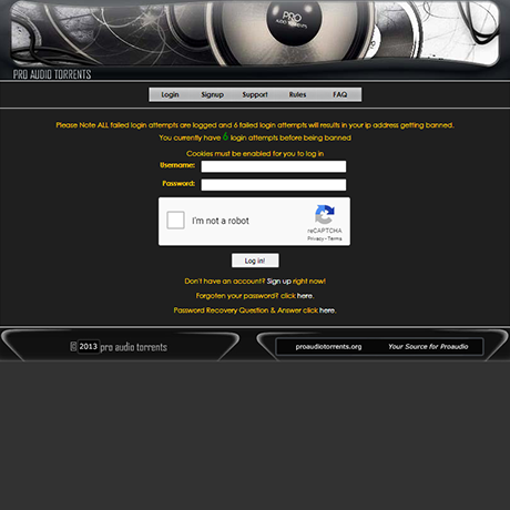 ProAudioTorrents - http://www.proaudiotorrents.org