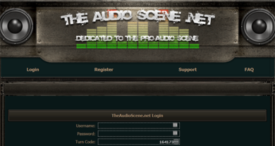 TheAudioScene - theaudioscene.netauthenticationlogin.php
