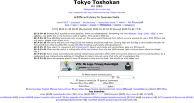 Tokyo Tokoshan - tokyotosho.info