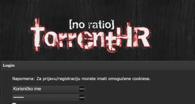 TorrentHR - torrenthr.orglogin.php
