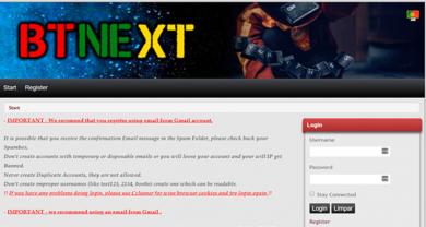 BTNext - tracker.btnext.com?p=home&pid=1