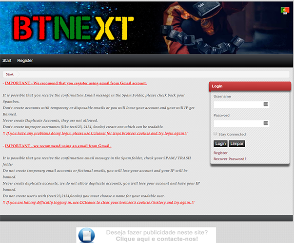 BtNext - http://tracker.btnext.com