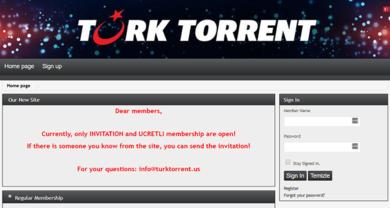 TurkTorrent - turktorrent.us