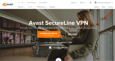 Avast secureline - avast.comsecureline-vpn#pc