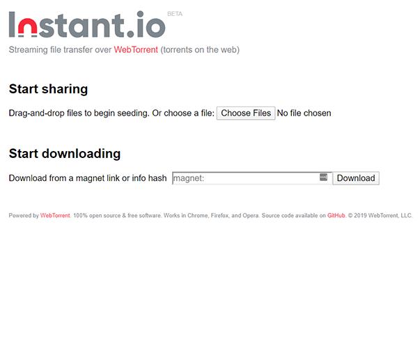 Instant.io - https://instant.io