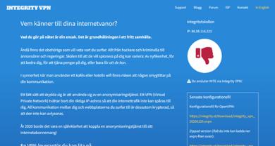Integrity VPN - integrity.st
