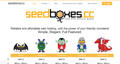 Seedboxes.cc - seedboxes.cc