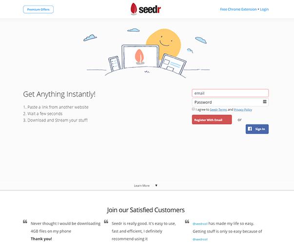Seedr - https://www.seedr.cc