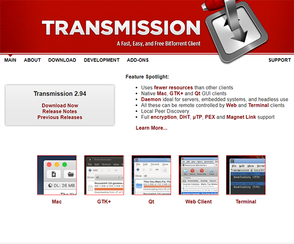 Transmission - https://transmissionbt.com
