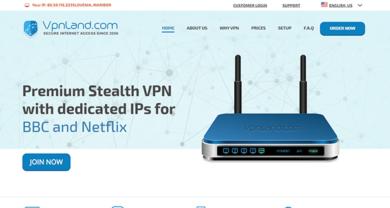 VPN Land - vpnland.com