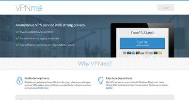 VPNMe - vpnme.com