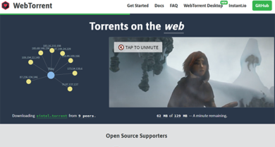 WebTorrent - webtorrent.io