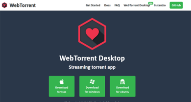 WebTorrent Desktop - webtorrent.iodesktop
