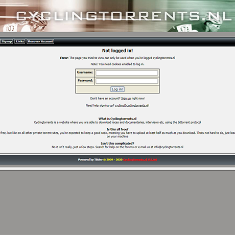CyclingTorrents - http://cyclingtorrents.nl