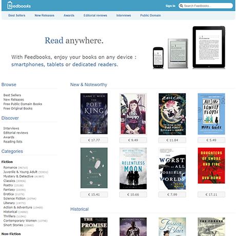 FeedBooks - http://www.feedbooks.com