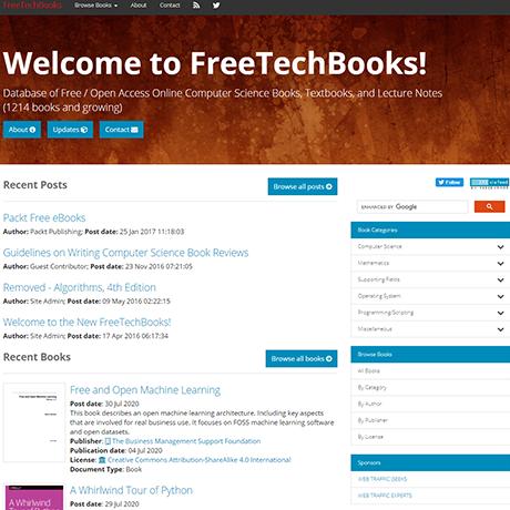 FreeTechBooks - https://www.freetechbooks.com