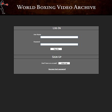 WorldBoxingVideoArchive