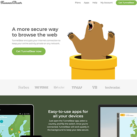 TunnelBear - https://www.tunnelbear.com