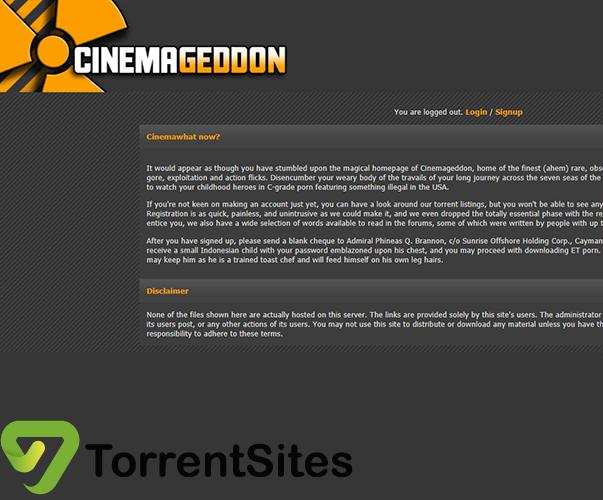 Cinemagedon - http://cinemageddon.net