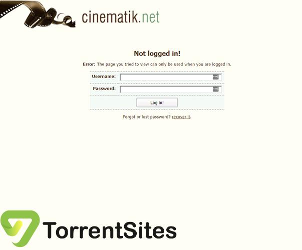 Cinematik - cinematik.netlogin.php?returnto=