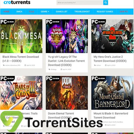 CroTorrents - https://crotorrents.com