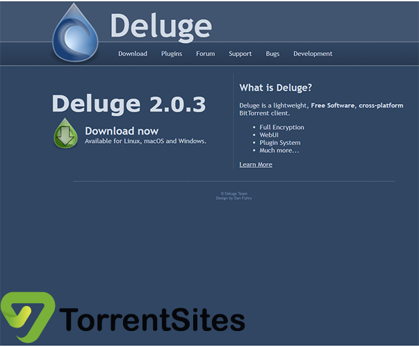 Deluge - deluge-torrent.org