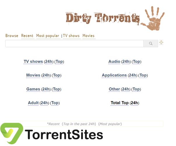 Dirty Torrents - dirtytorrents.com
