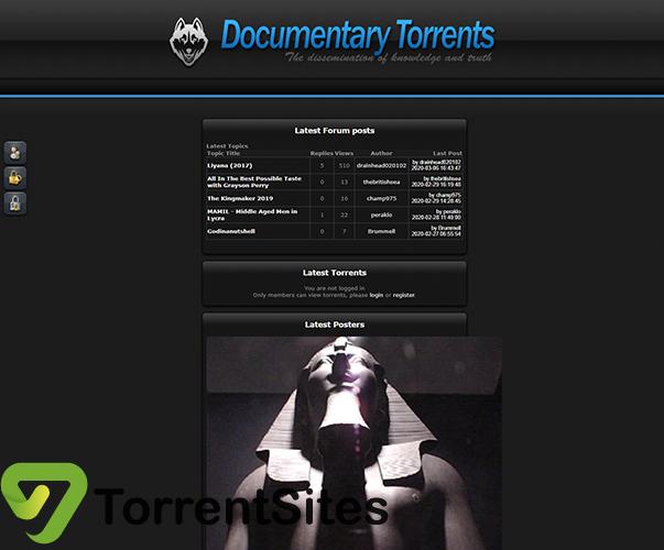 Documentary Torrents - documentarytorrents.com
