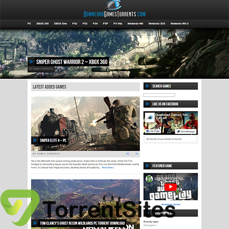 DownloadGamesTorrents - https://downloadgamestorrents.com