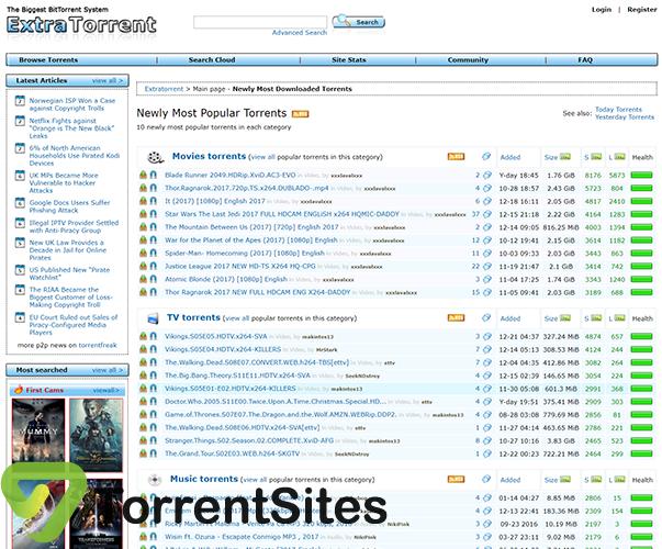 ExtraTorrent - https://extratorrent.si