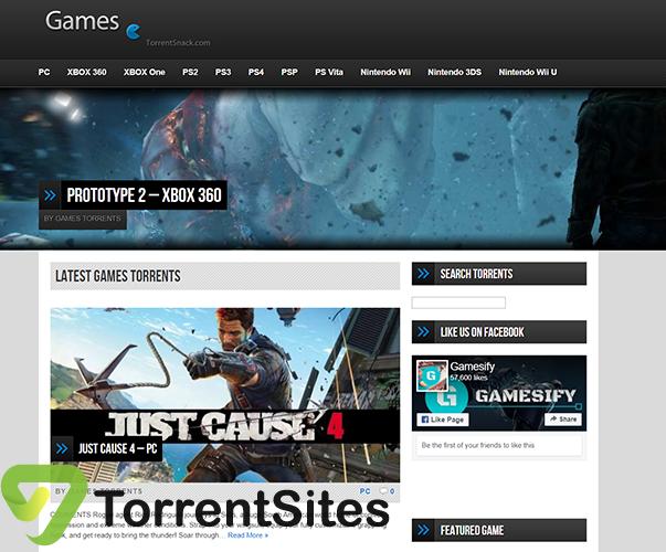 TorrentSnack Games - games.torrentsnack.com