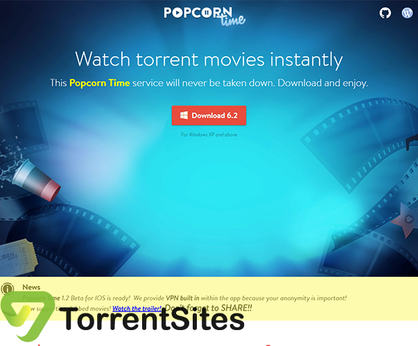 PopcornTime - getpopcorntime.is
