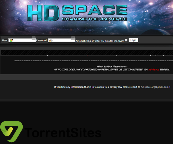 HD-space - https://hd-space.org