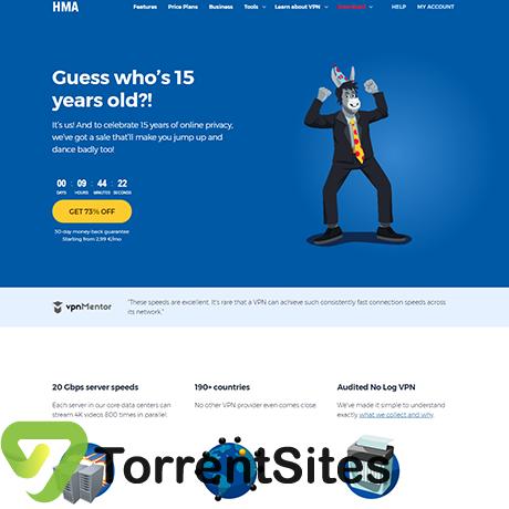HideMyAssVPN - http://torrentsites.me