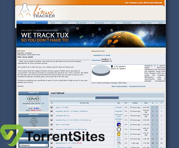 Linuxtracker - linuxtracker.org